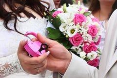 Wedding's lock Royalty Free Stock Images