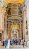 Wedding in Saint Peter`s Basilica in Vatican royalty free stock image