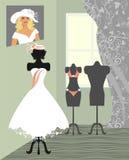 Wedding salon Stock Images