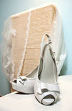 Wedding sandals Royalty Free Stock Photos