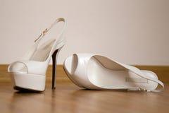 Wedding sandals Royalty Free Stock Photo