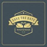 Wedding save the date invitation card design template vector illustration. vector illustration