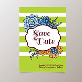 Wedding. Save The date Royalty Free Stock Photos