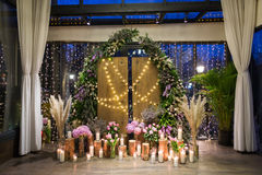 Wedding scene Stock Photography