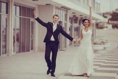 Wedding at the sea Royalty Free Stock Photo