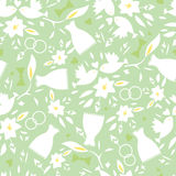 Wedding seamless pattern background Royalty Free Stock Photography