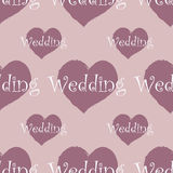 Wedding seamless pattern Stock Images