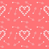 Wedding seamless romantic decorative pattern background Royalty Free Stock Image