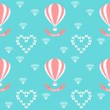 wedding seamless romantic decorative pattern Royalty Free Stock Photos