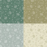 Wedding seamless texture. Royalty Free Stock Image