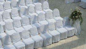 Wedding seating Stock Image