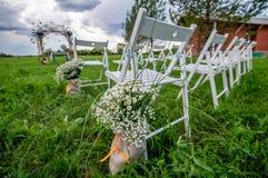 Wedding seating Stock Image