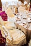 Wedding seating Royalty Free Stock Image