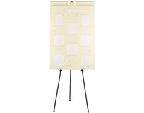 Wedding seating plan board Royalty Free Stock Photography