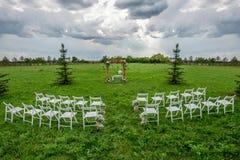 Wedding seating Royalty Free Stock Photography