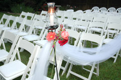 Wedding Seats Royalty Free Stock Photos