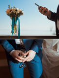 Wedding set for groom Stock Image
