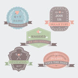 Wedding set Stock Photography