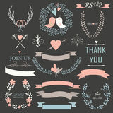 Wedding set Royalty Free Stock Images