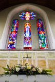 Wedding set up in Church. Ireland Stock Photos