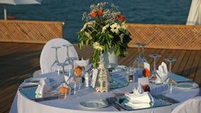 Wedding Set Up Royalty Free Stock Photography