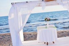 Wedding set up Royalty Free Stock Images