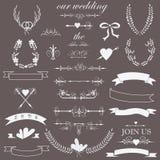 Wedding set Stock Photo