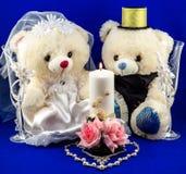 Wedding setting Royalty Free Stock Photos
