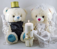 Wedding setting Royalty Free Stock Photo