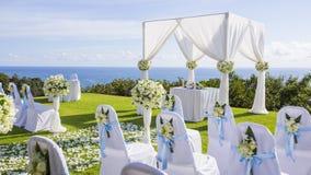 Wedding setting Royalty Free Stock Photography
