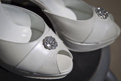 Wedding shoe Royalty Free Stock Image