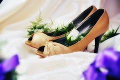 Wedding Shoes Royalty Free Stock Image