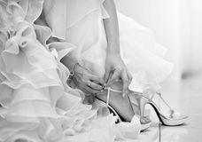 Free Wedding Shoes Stock Photo - 25383680