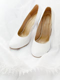 Wedding shoes Royalty Free Stock Photography