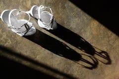 Wedding shoes Stock Image