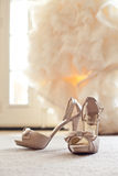 Wedding Shoes High Heels Royalty Free Stock Photography