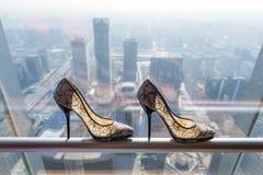 Wedding shoes Royalty Free Stock Photos
