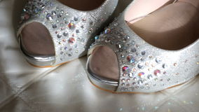 Wedding Shoes stock video