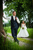 After Wedding Shooting - bride and groom - Stock Photography