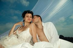 Wedding shot Stock Photography