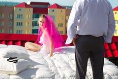 Wedding shot Stock Image