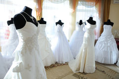 In the wedding showroom Royalty Free Stock Photography