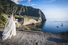 Wedding in Sicily Stock Photography