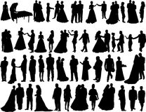 Wedding silhouettes