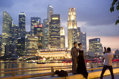 Wedding in Singapore Stock Photo