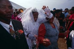 A wedding in South Africa Stock Photo