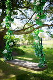 Wedding And Special Occasion Swing Royalty Free Stock Photos