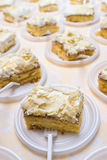 Wedding sponge cake Royalty Free Stock Photos