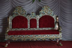 Wedding Stage with chair Royalty Free Stock Photo