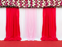 Wedding stage decoration Stock Image